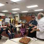 Psychology students bake and break bread with Gettysburg Middle Schoolers to teach resilience